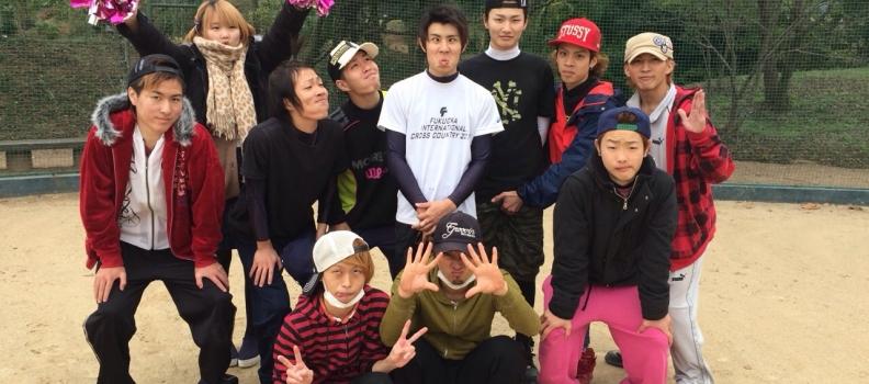 11/17(月) 理容組合の熊本県ソフトボール大会に出場しました。